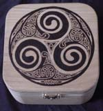 Celtic Square Box