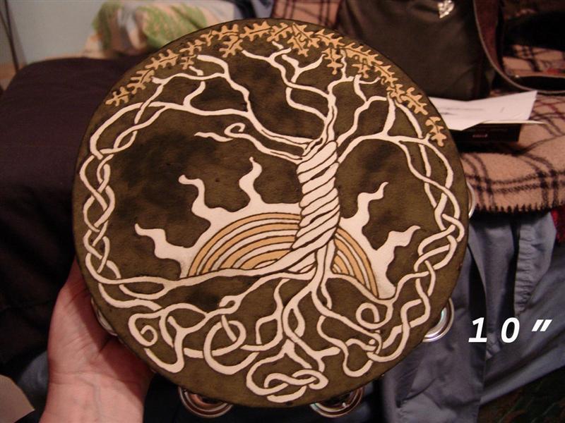 The Amber Wolf Henna Art